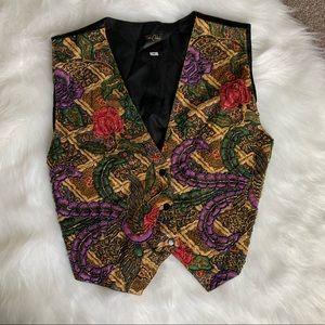 Tops - Vintage beaded embellished vest